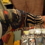 Tattoo Sleeve Display