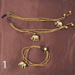 gold bead w-elephant