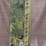 Green Elephant Print Shawl