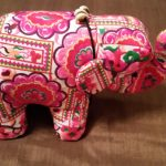 Hilltribe Embroidered Elephant